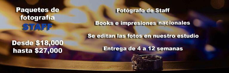 PAQUETES DE FOTOGRAFIA DE BODAS EN MEXICO STAFF